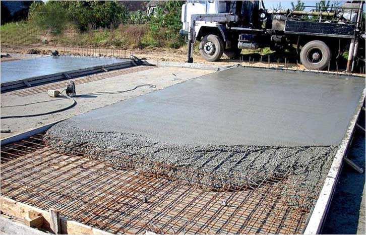 Расценка заливки бетона в москве купить диск для сухой резки бетона
