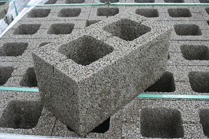 Как сделать блок из керамзита