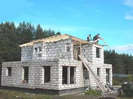 Строительств домов из пеноблоков своими руками